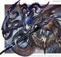 Necrodragon Belzarogue artwork