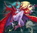 Demonic Queen Meigas artwork