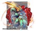 Dogiragon Buster, Blue Leader artwork