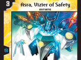Asra, Vizier of Safety