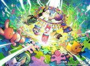 Merry Boy Round, Cradle of D artwork