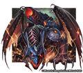 Bolmeteus Black Dragon artwork