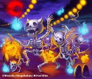 Bonedance, Invader artwork