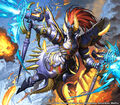 Prince Avaraldo, Cavalier of Thunder artwork
