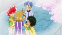 Team Tensai Katta in a flashback
