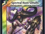 Spectral Horn Glitalis