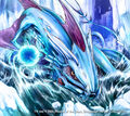 Melrosgalb, Blue Divine Dragon artwork