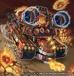 Gordeo, Mach Tank artwork