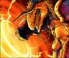 Super Explosive Volcanodon artwork
