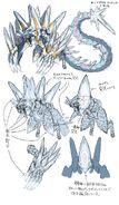 Concept Art of Sr Spellcyclica, Dragment Symbol