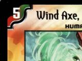 Wind Axe, the Warrior Savage