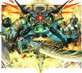 Auzesu, Demonic Elemental artwork