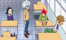 Lucifer, Katta, Lulu and Leo in school