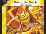 Kolon, the Oracle