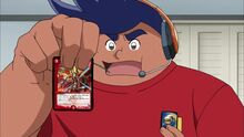 Hokaben's appearance as 'Climax-Hokai' in a web duel