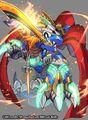 Dogiragon Buster, Blue Leader artwork (SD)