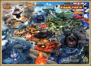 DM Creature World Map