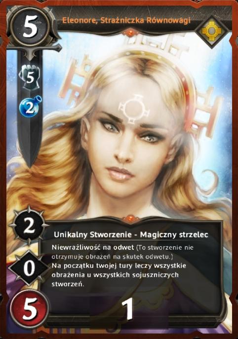Eleonore, Strażniczka Równowagi