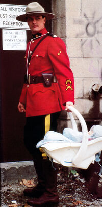Fraser Baby A Cop, a Mountie and a Baby