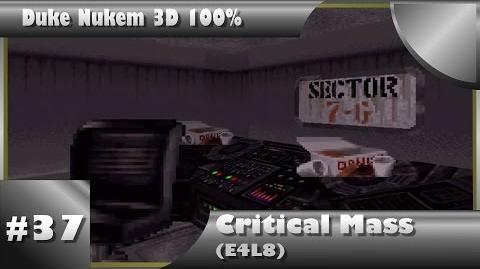 Duke Nukem 3D 100% Walkthrough- Critical Mass (E4L8) -All Secrets-