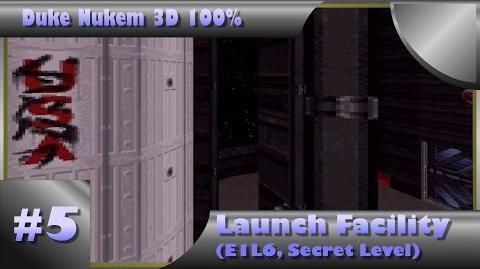 Duke Nukem 3D 100% Walkthrough- Launch Facility (E1L6, Secret Level) -All Secrets-