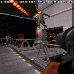 Pre-release screenshot showing the Trooper with a different pallet in <a href=