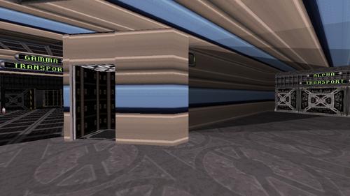 Dark Side hidden elevator