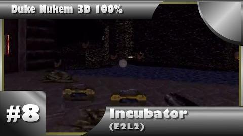 Duke Nukem 3D 100% Walkthrough- Incubator (E2L2) -All Secrets-