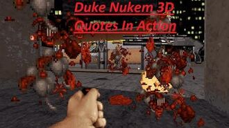 Duke Nukem 3D - All Quotes With In-Game Footage