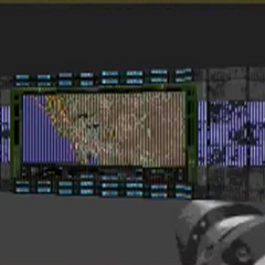 Animated map on a wall in DN3D Genesis