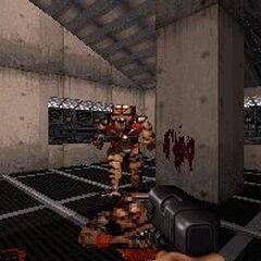 Beta version screenshot showing an unused aiming animation.