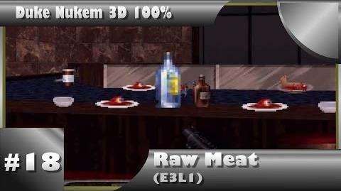 Duke Nukem 3D 100% Walkthrough- Raw Meat (E3L1) -All Secrets-