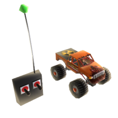 The RC Mighty Foot for an Xbox Live avatar