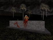 Duke!ZONEII-GraveyardShift-Doomguycameo