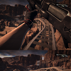 Standing reload (top) and Crouching reload (bottom)