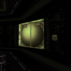 Entrance to the boss room