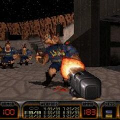 An early version of the <i>Pig Cop</i>. Their weapon appear to be a double-barreled shotgun.