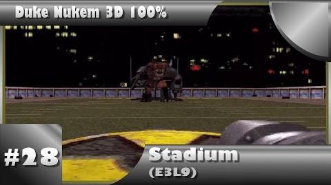 Duke Nukem 3D 100% Walkthrough- Stadium (E3L9) -Boss-