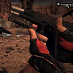 The M1911 reload.