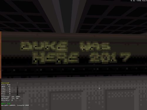 Duke was here 2017