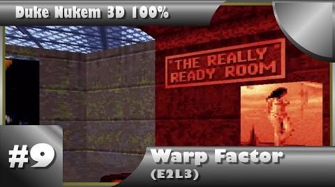 Duke Nukem 3D 100% Walkthrough- Warp Factor (E2L3) -All Secrets-