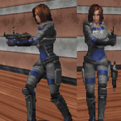 Bombshell as a playable character in <i><a  class=