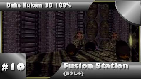 Duke Nukem 3D 100% Walkthrough- Fusion Station (E2L4) -All Secrets-