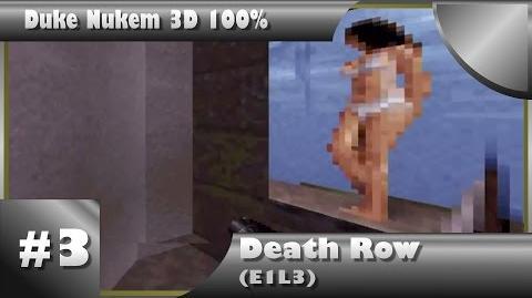Duke Nukem 3D 100% Walkthrough- Death Row (E1L3) -All Secrets-