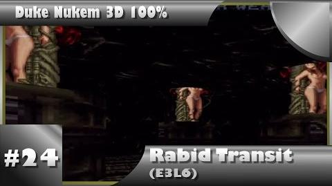 Duke Nukem 3D 100% Walkthrough- Rabid Transit (E3L6) -All Secrets-