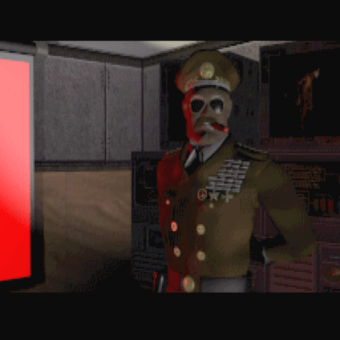 General Graves in the intro of Atomic Edition