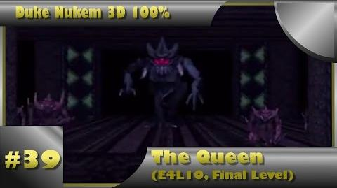 Duke Nukem 3D 100% Walkthrough- The Queen (E4L10) -All Secrets, Final Level-