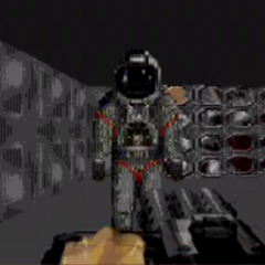 Body suit (Space suit) in DN3D Genesis. Intended for the PC DN3D but was cancelled due to the cancelled in-space scenes.