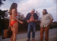 """Daisy Mae Duke in the pilot episode """"One Armed Bandits"""""""