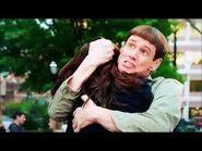 Penny hugging Lloyd